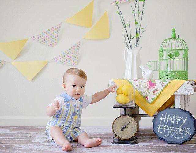 Decoración para habitación de bebé