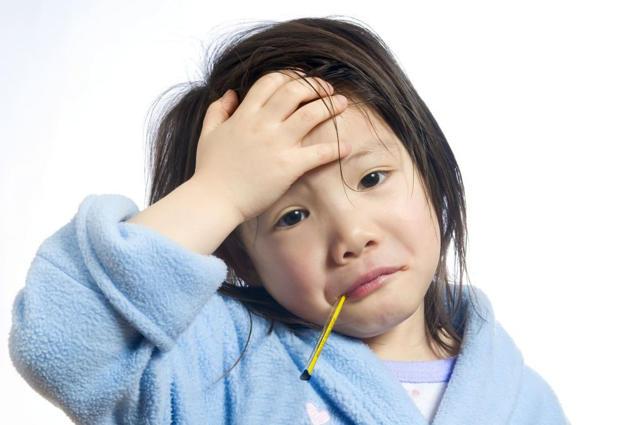 malestar de fiebre en niños