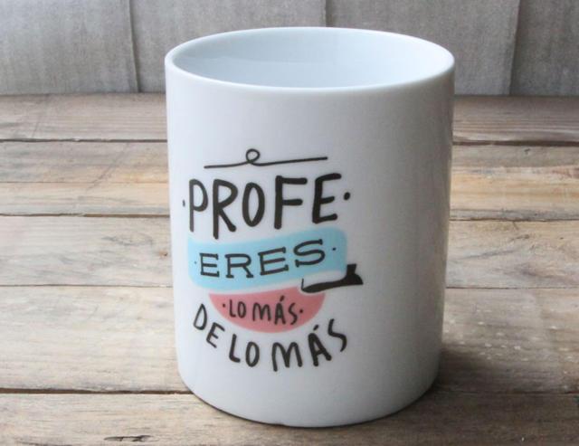 tazas de regalos para profesores