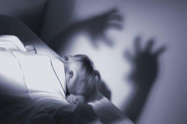 Los terrores nocturnos de los niños pesadillas