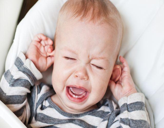 ardor y malestar de reflujo en bebés