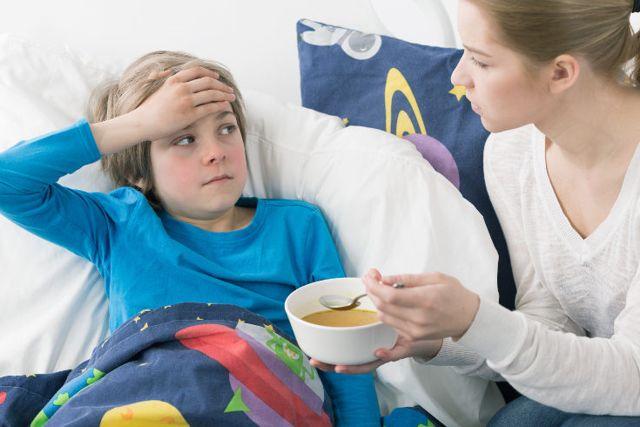 bajar la fiebre en niños con remedios naturales