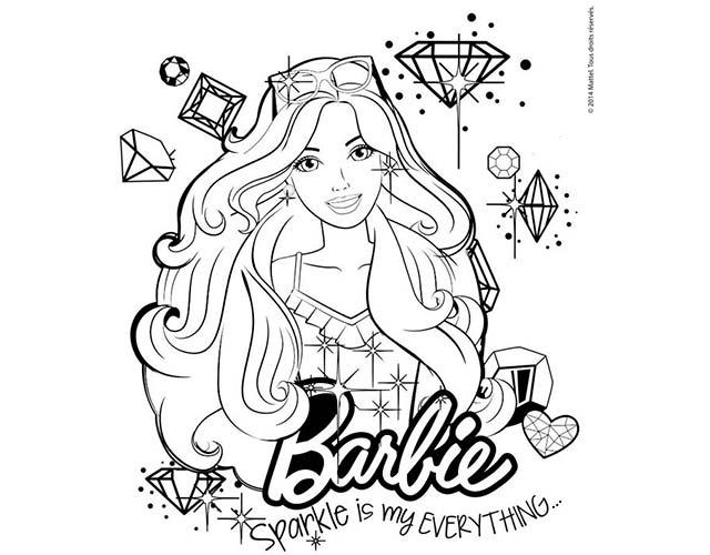 barbie dibujos