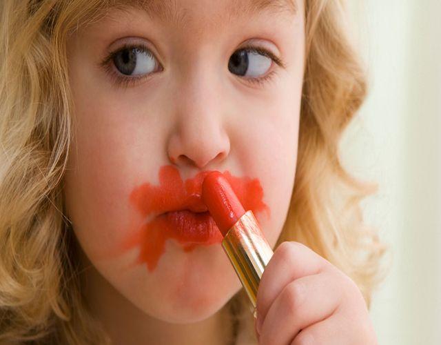 cuidados con el maquillaje infantil