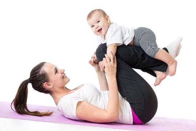 hacer ejercicio después del parto