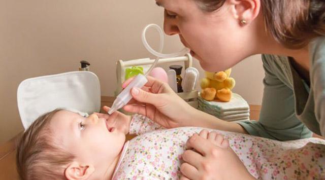Nariz taponada del bebé, ¿qué hacer?