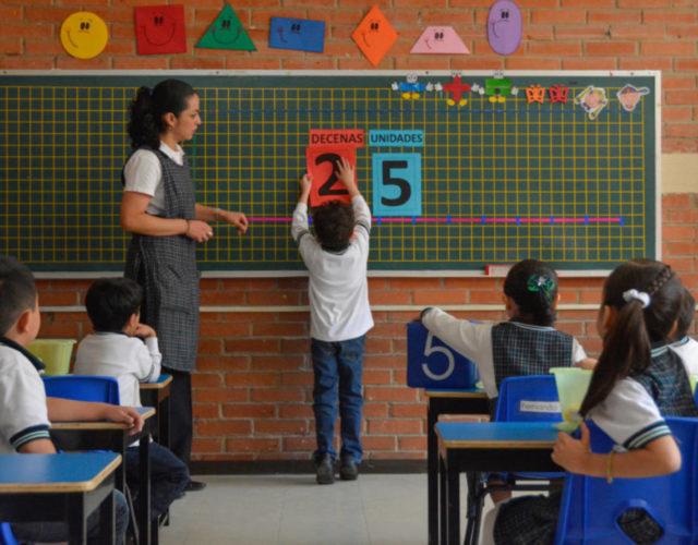 Jardin de infancia en la educacion