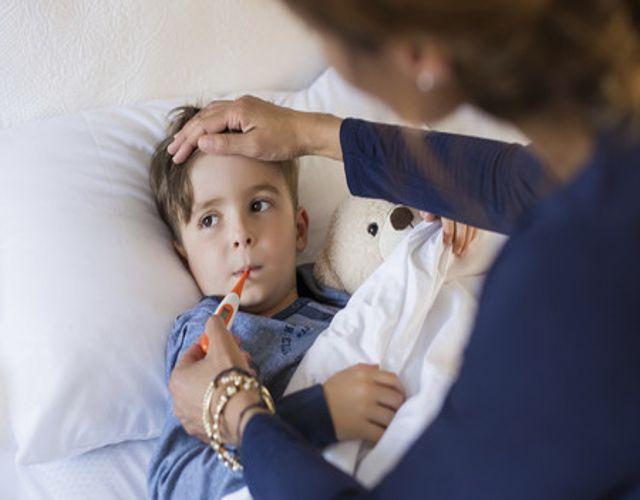 remedios naturales para bajar la fiebre en niños