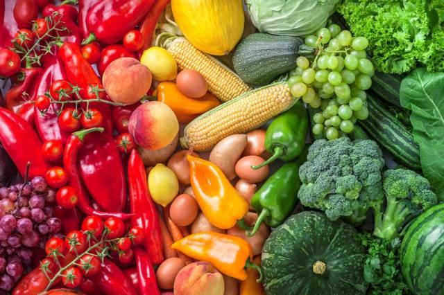verduras con nitrato