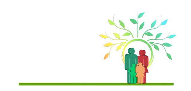 árbol familiar genealógico