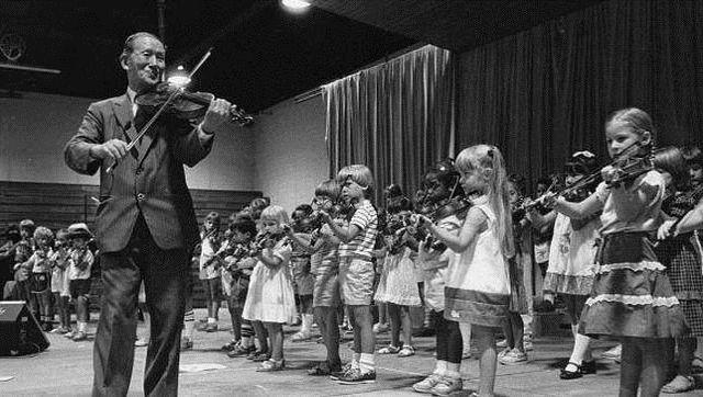 El método suzuki violinista