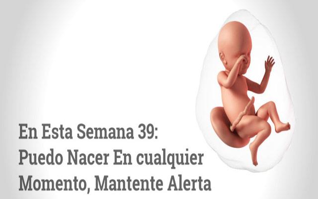 Semana 39 de embarazo