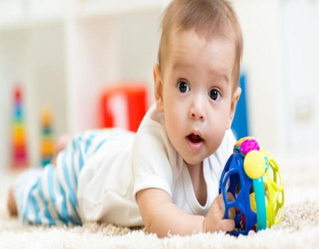 Horarios para bebés de 3 a 4 meses jugar