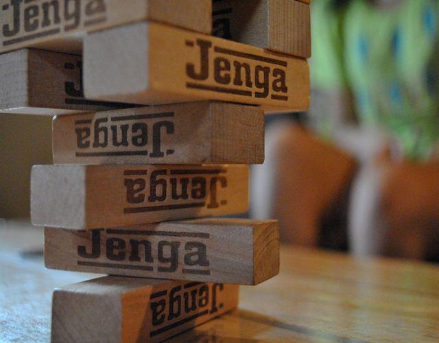 Jenga juegos de mesa para la familia