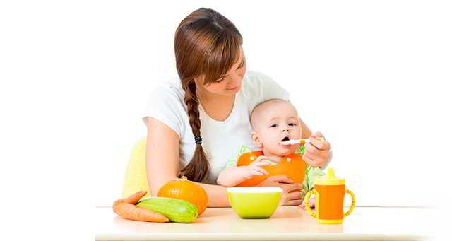 alimentos para el bebé