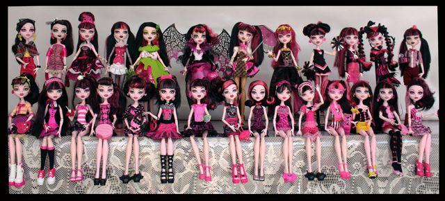 colección de Monster High