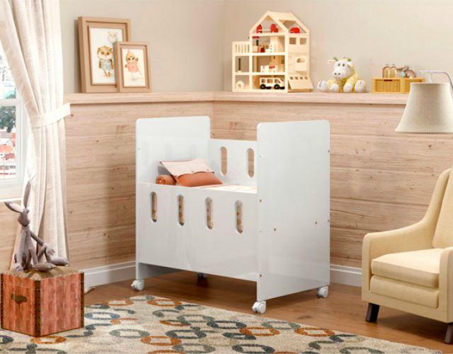 Habitación del bebé con poco dinero
