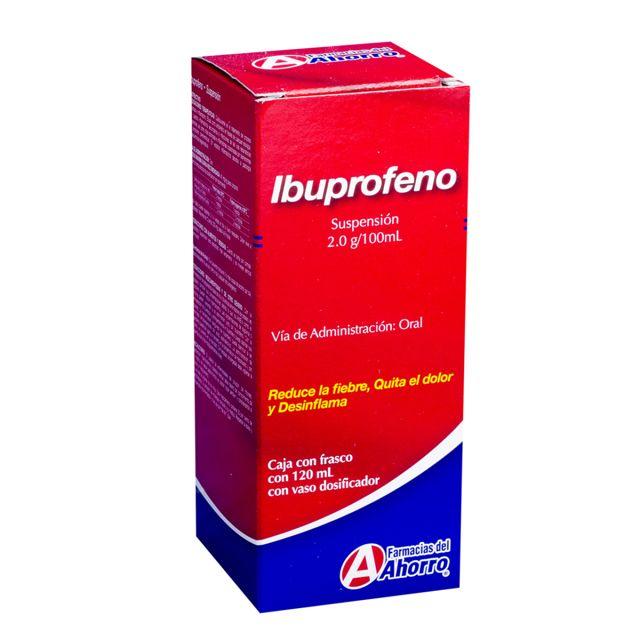 dosis de Ibuprofeno para niños