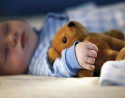 dormir un niño de 3 años