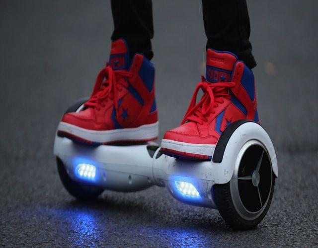 patín eléctrico o hoverboard