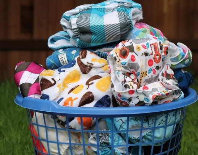 lavar pañales de tela