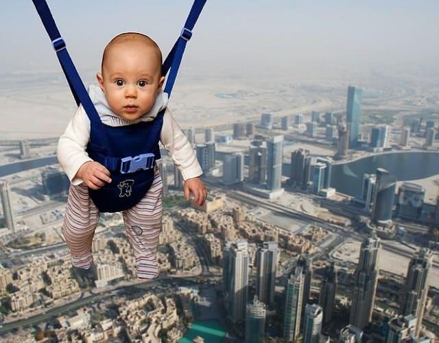 Medidas de seguridad para el bebé