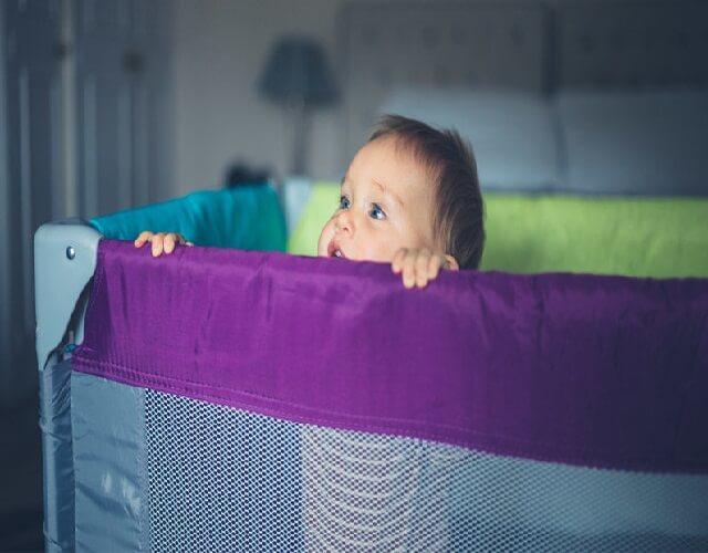 corrales para bebés