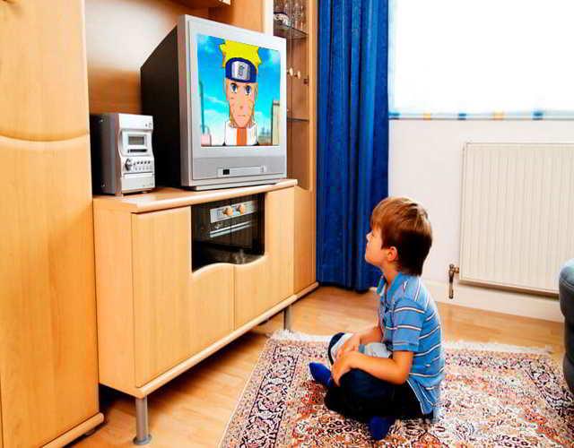 cuento tiempo deberia ver un niño televisión