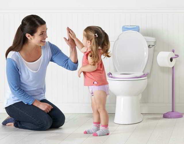 enseñarles ir al baño