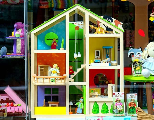 Los juguetes para niños de dos años