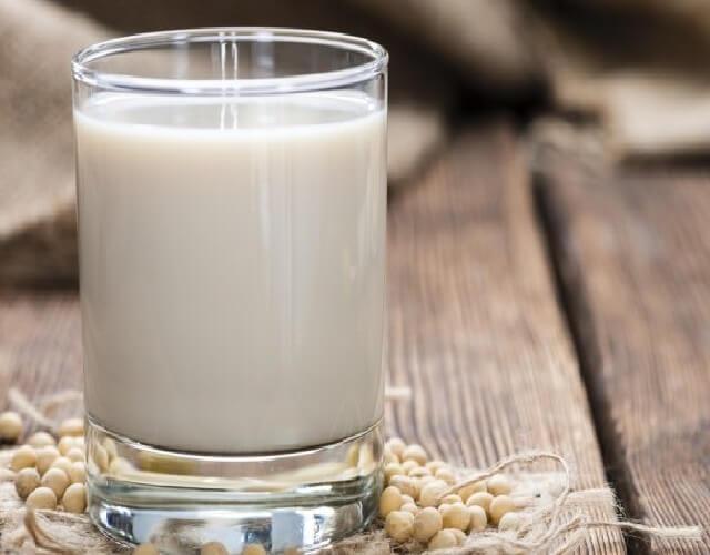 La leche de soja