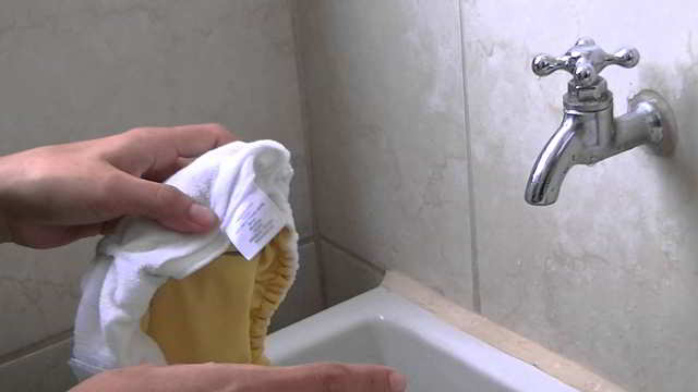 modo correcto de lavar pañales de tela