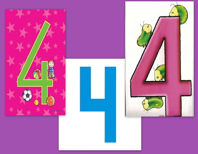 número 4 en numerología