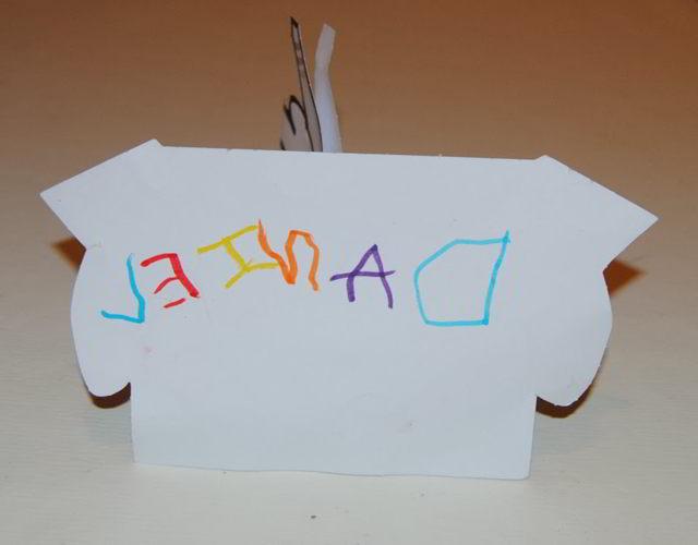 porque Mi hijo escribe letras al revés