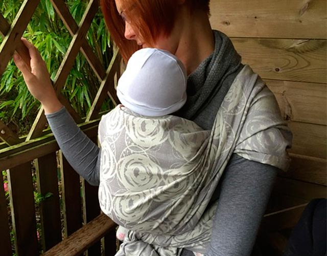 beneficios de usar rebozo para bebé