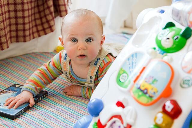 bebes de 6 meses