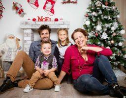 fotos de navidad con bebés