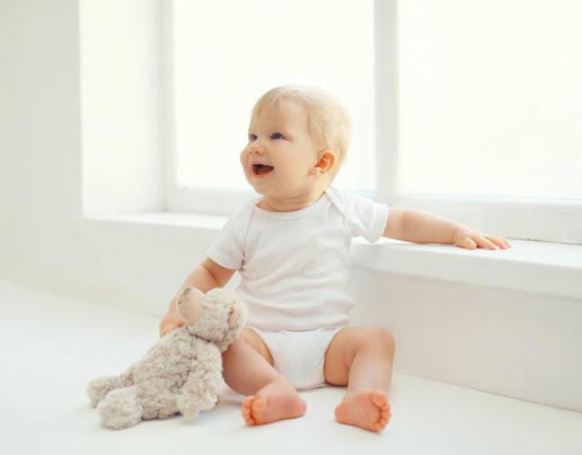 Cuándo se sientan los bebés