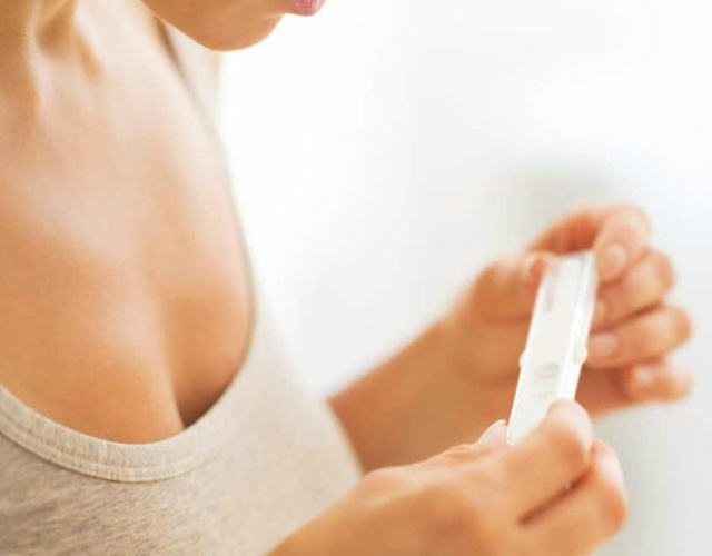 la prueba de embarazo
