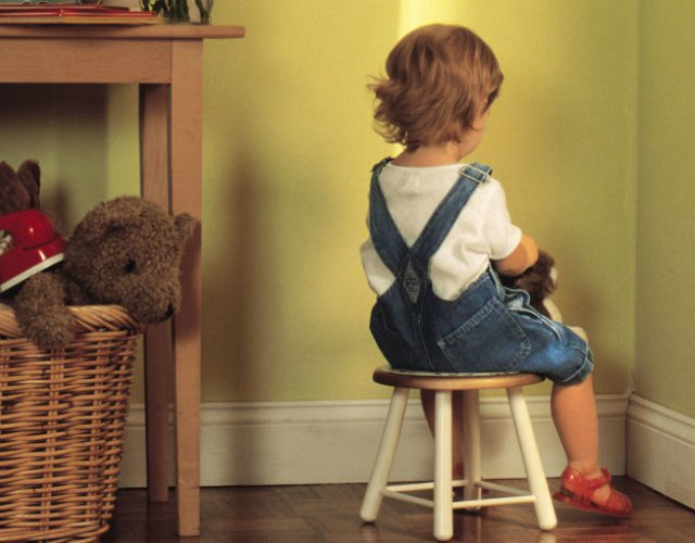 castigar a un niño