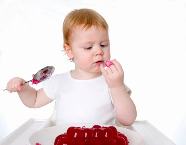 gelatina para el bebé