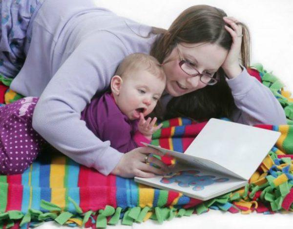 leer cuentos a bebés