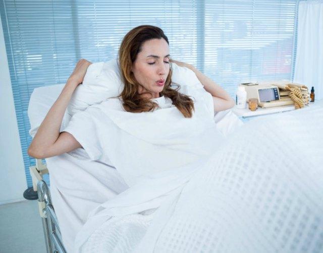Técnicas de respiración en el parto