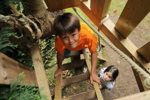 casa del arbol juegos para niños de cinco años
