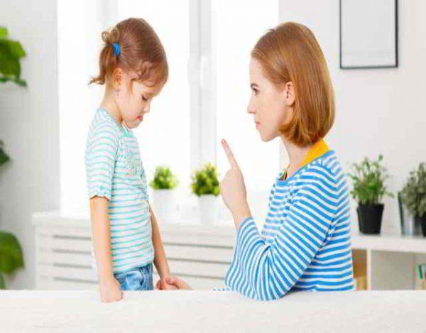 castigos para niño de 3 años