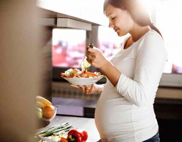 puedes no engordar en el embarazo