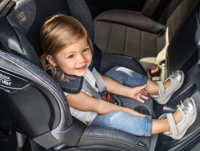 silla a contramarcha para niños sistema de retención