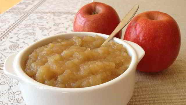 beneficios del puré de manzana para bebés
