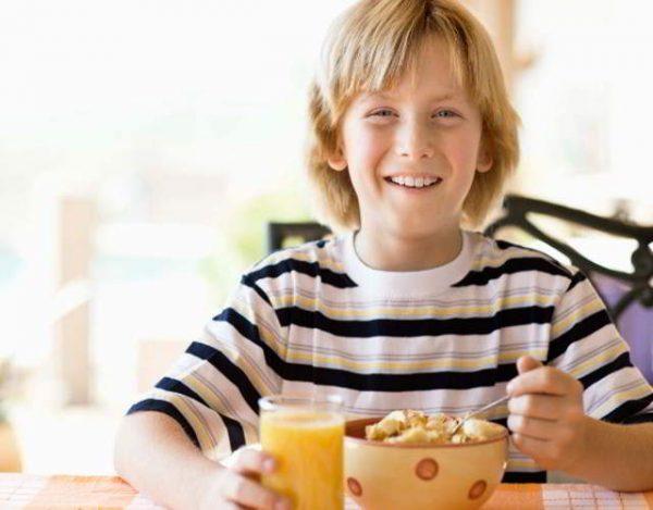 comidas saludables para niños de 11 años