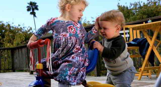 conductas agresivas en niños y niñas